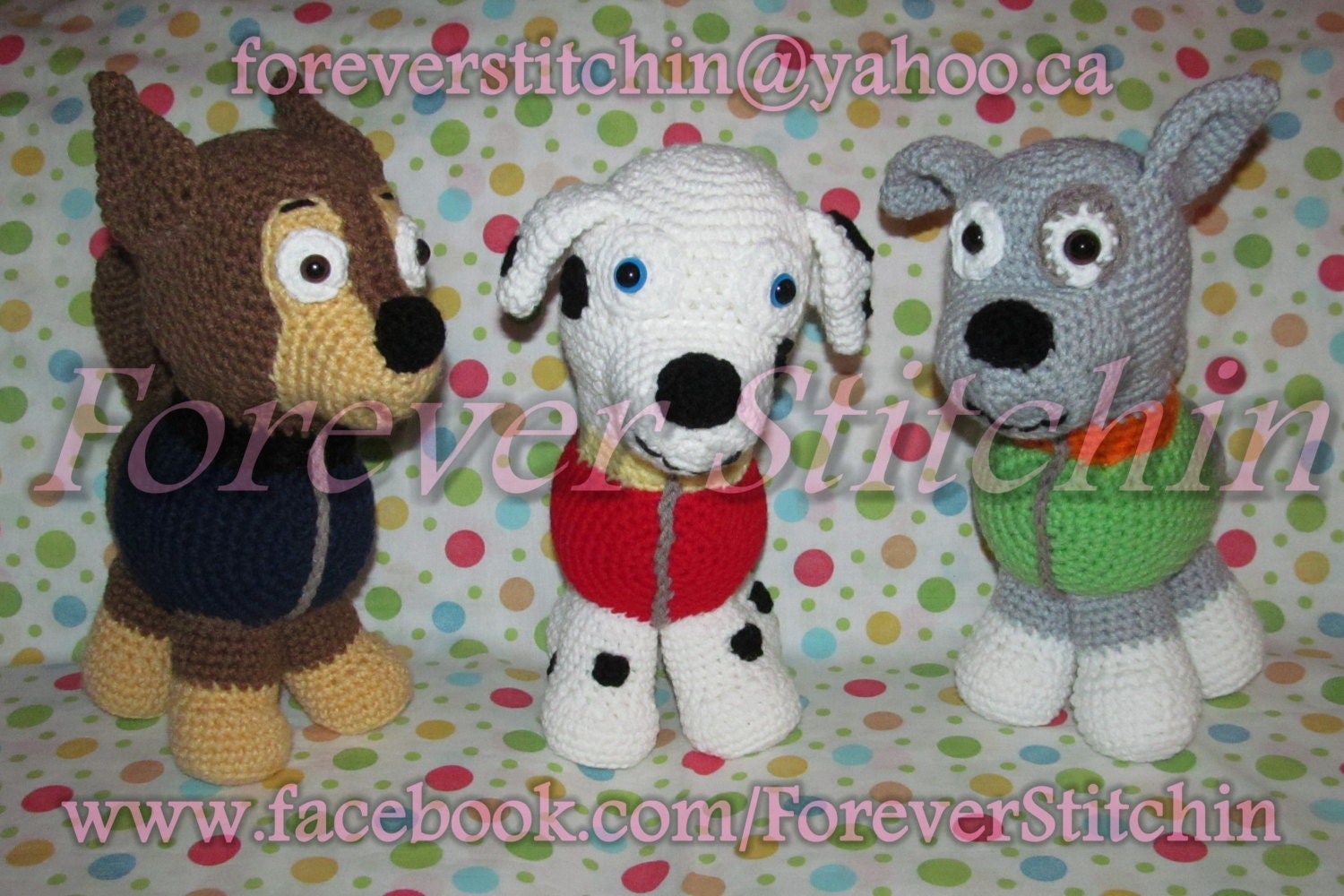 Crochet Patterns Paw Patrol : Request a custom order and have something made just for you.