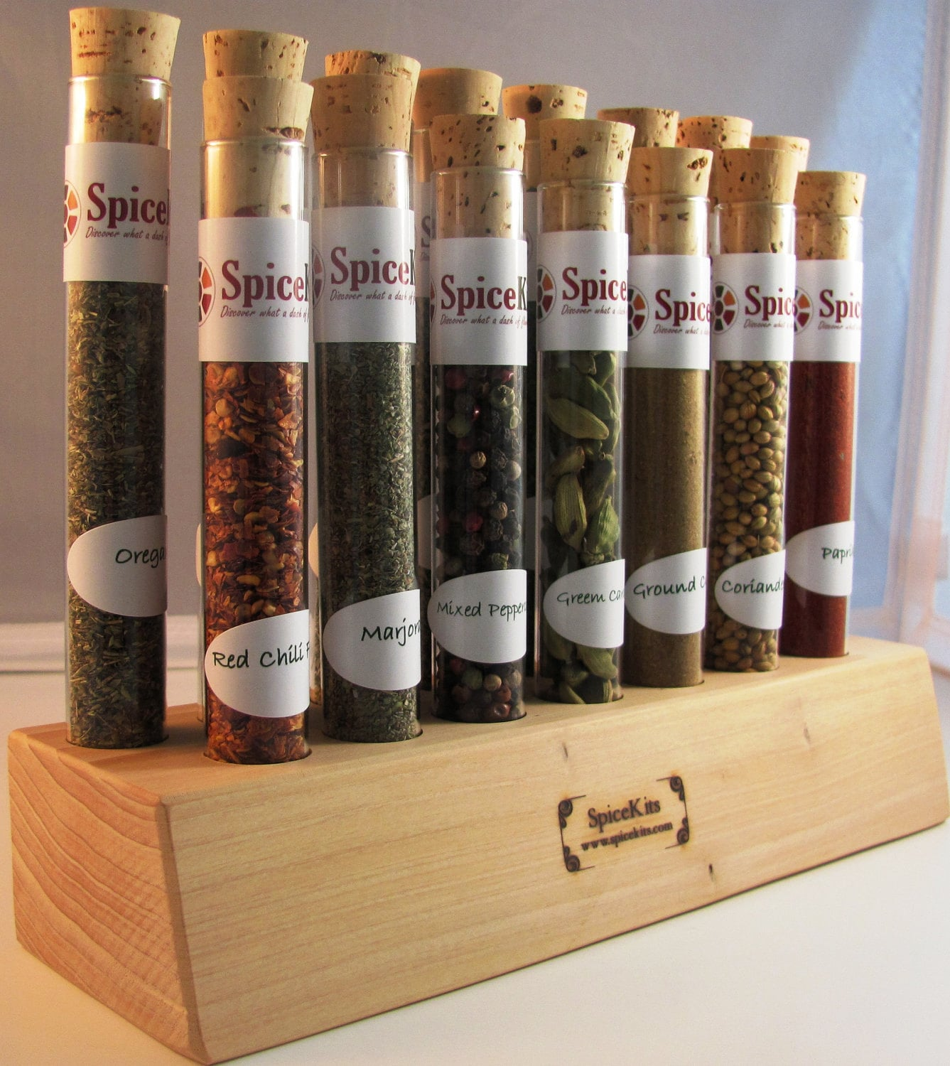 Test Tube Spice Rack By Spicespicebaby On Etsy