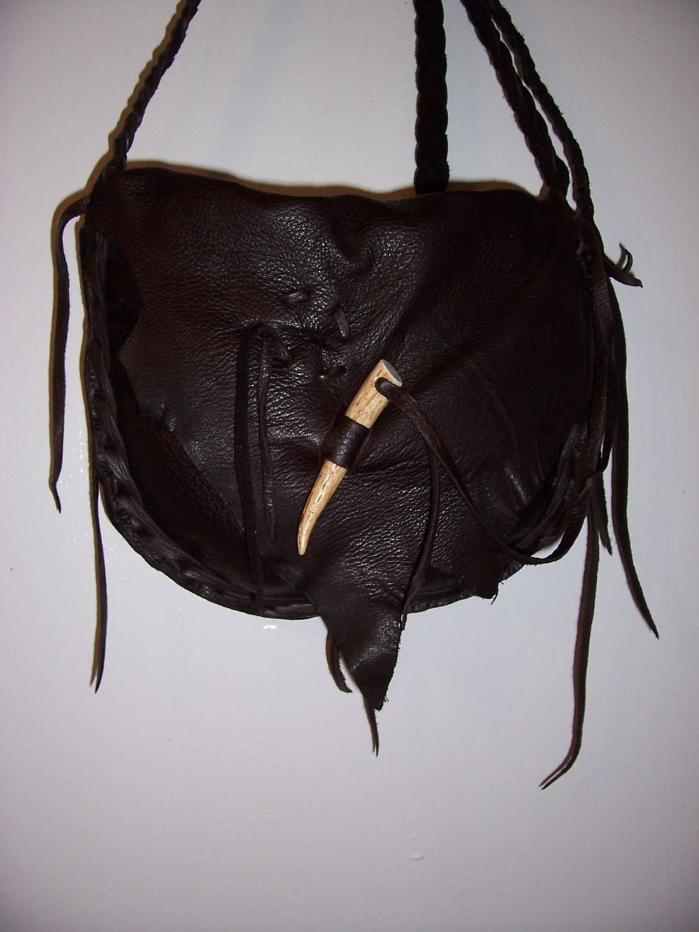leather possibles bag by leatherbaglady on etsy