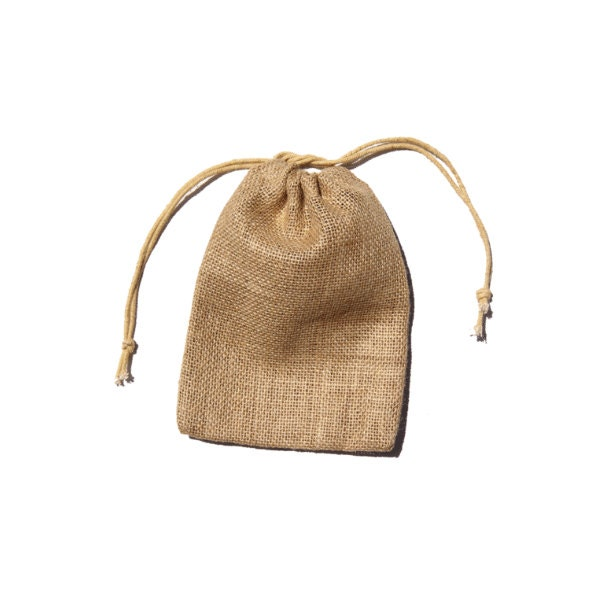 5 x 7 burlap jute bags pouches for wedding gift by for Burlap bag craft ideas