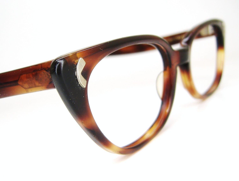 Vintage 50s art craft cat eye eyeglasses by vintage50seyewear for Art craft eyeglasses vintage