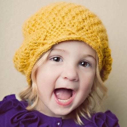 PDF Pattern-Elaina's Slouchy Hat by McKinley's Closet, size newborn-adult