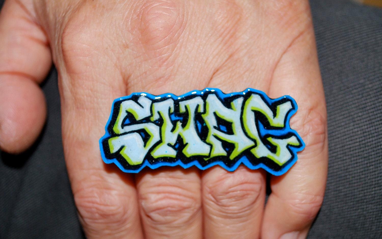 Graffiti Word Swag