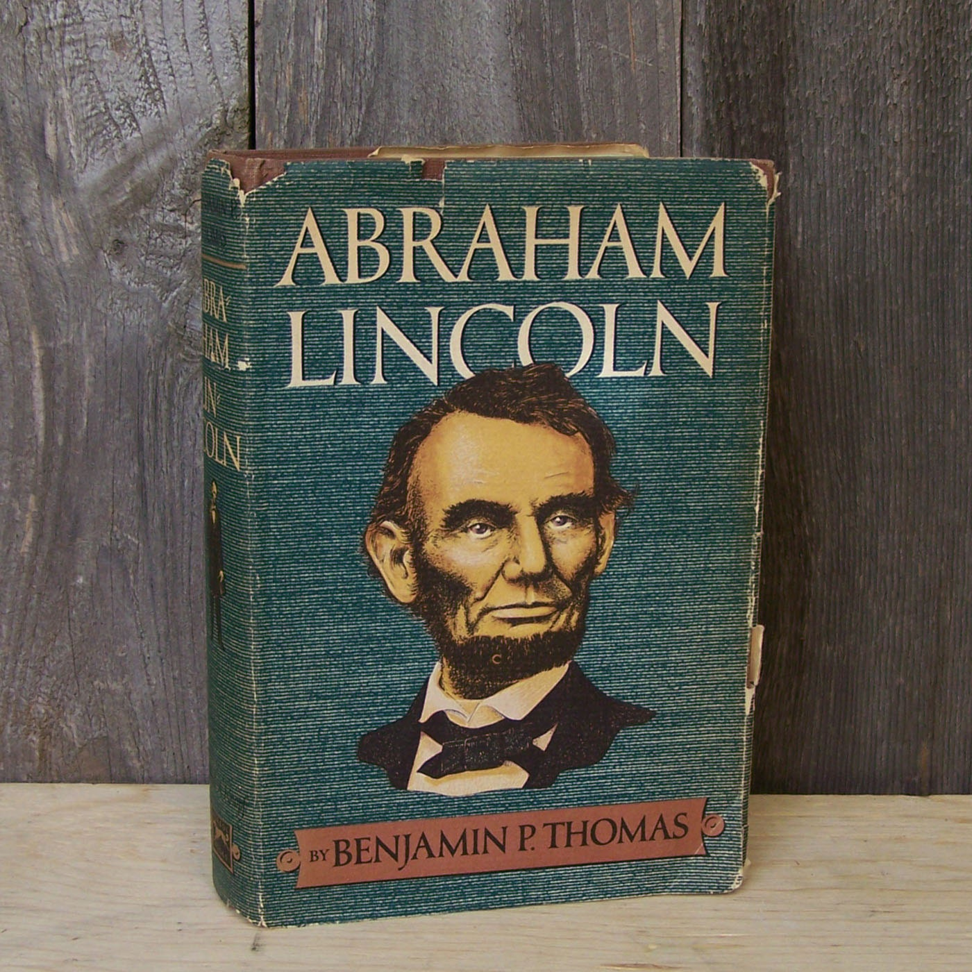 Abe Lincoln Books: 1952 Abraham Lincoln Book Biography By GoodPhamilyFun On Etsy