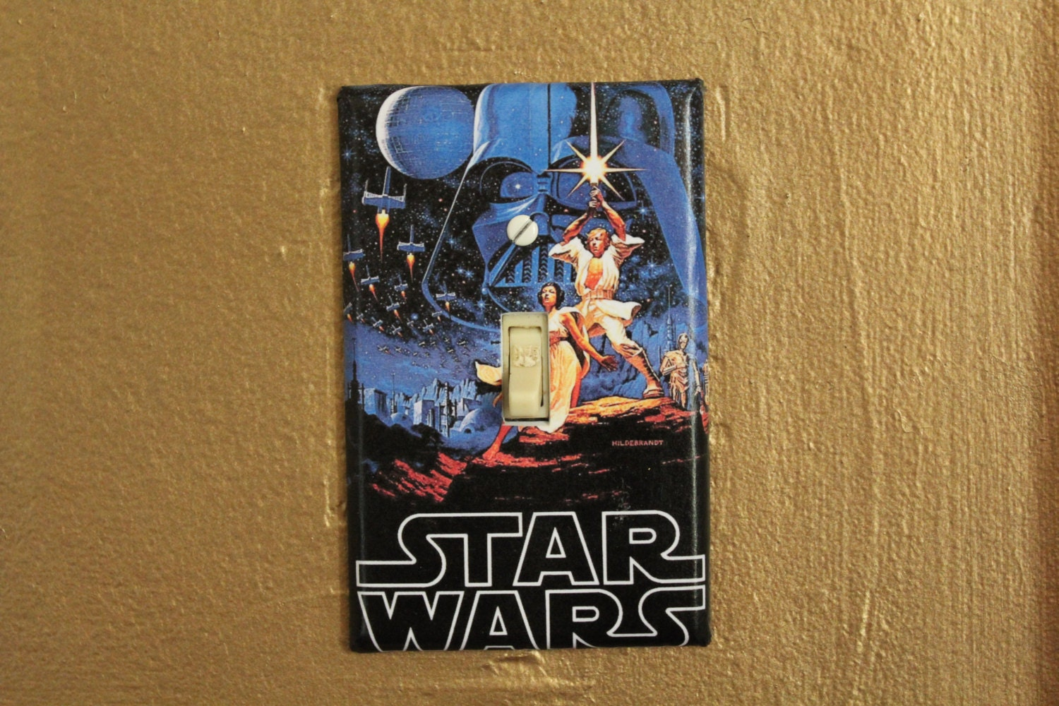 Star Wars Light Switch Cover Plate By Btpart On Etsy