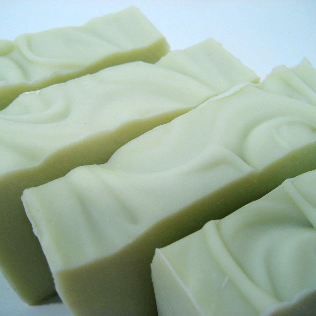 Cucumber & Aloe . Shea Butter Soap . Vegan . Green . Fresh . Clean