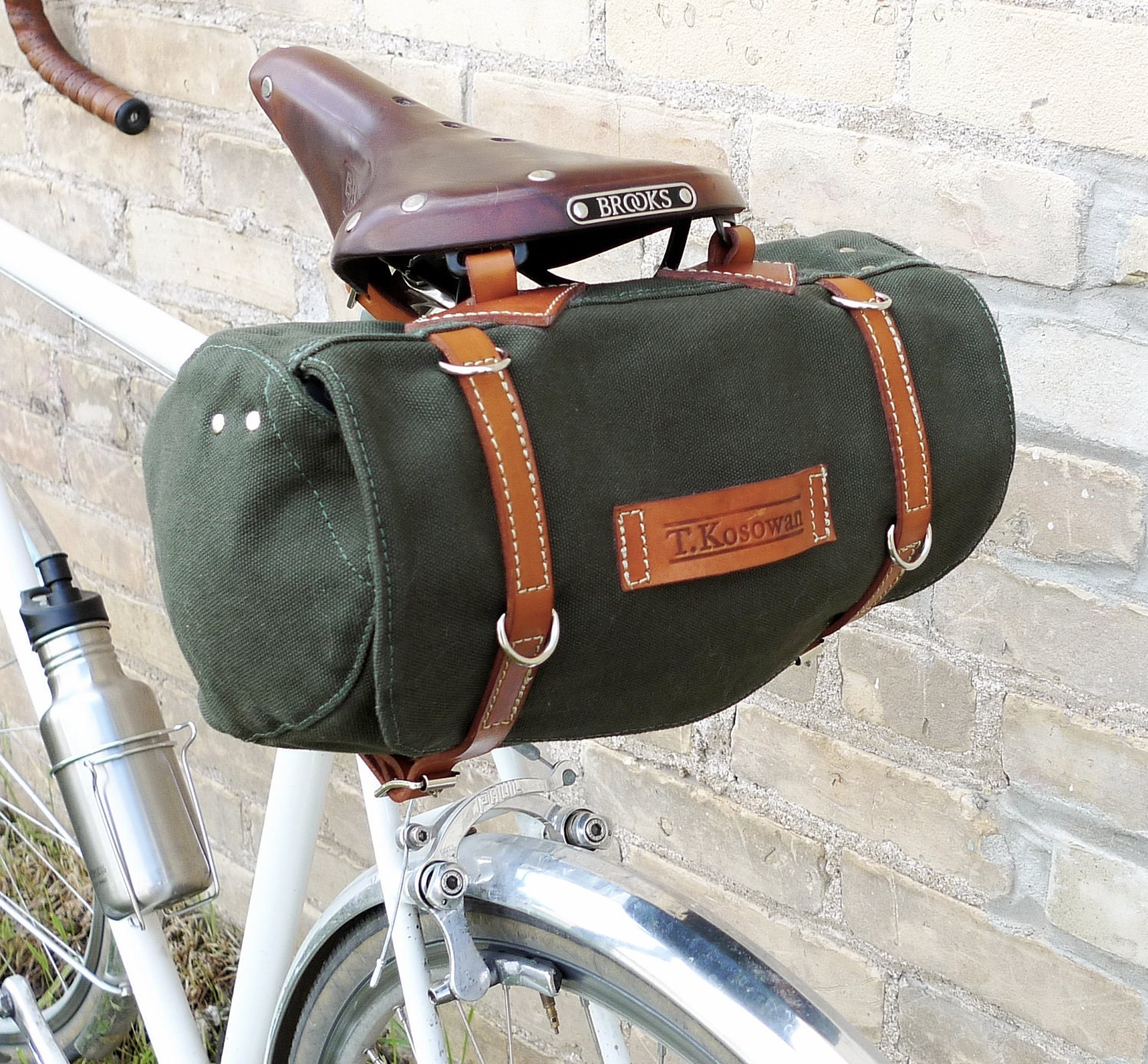 Classic Vintage Style Bicycle Bag (Ready to Ship) - snootsie