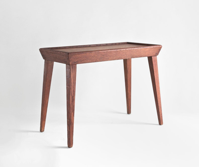 Solid Wood Mid Century Coffee Table: Mid Century Solid Wood Coffee Table