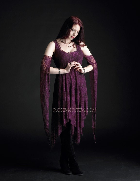 Eolande Lace Gothic Dress Fairy Dress Custom Made By Rosemortem