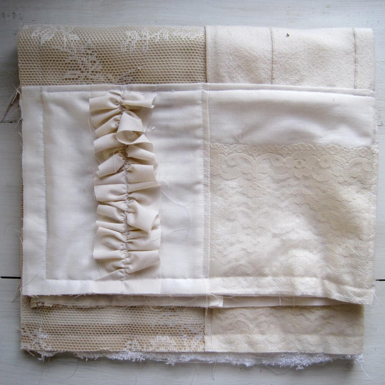 Shabby Chic Bathroom Rug Ivory By ForgetThemNot On Etsy