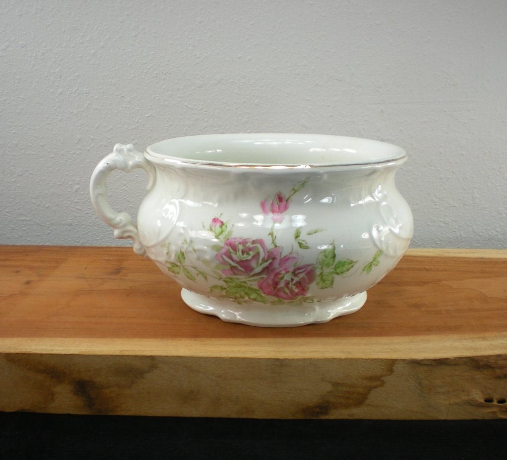 Antique Hobson Chamber Pot Porcelain China By Oldetymestore