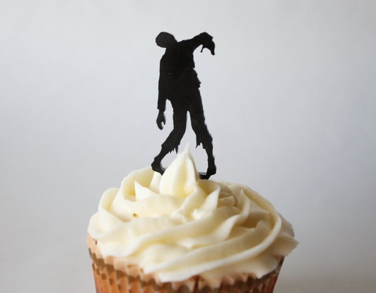 Zombie,zombies,cupcake,toppers,cake,decorations,party