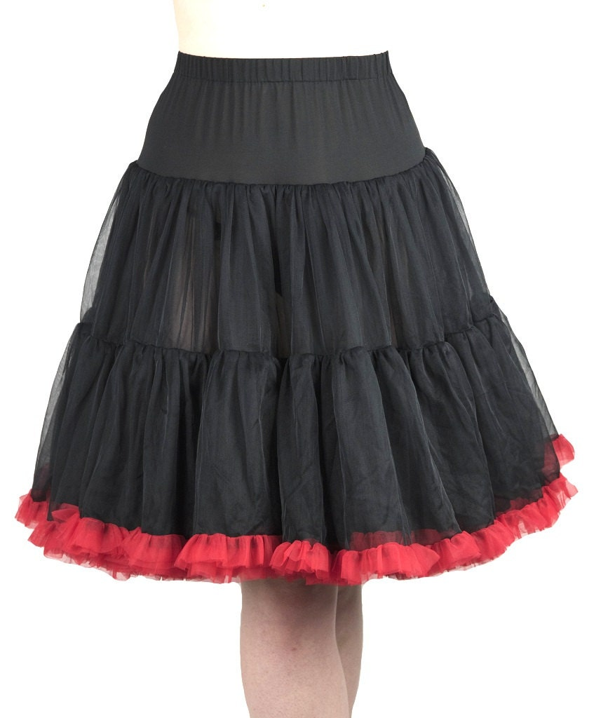 22 Inches Luxury Rich Layered Softest Fabrics Skirt Petticoat