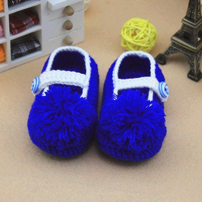 new style  Handmade Crochet Baby Booties soft girl baby boy baby shoes infant Shoes Toddler Shoes