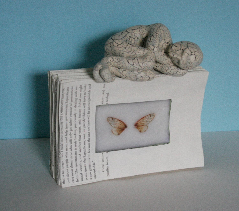 Спящий на крыло цикад (Оригинал скульптуры)