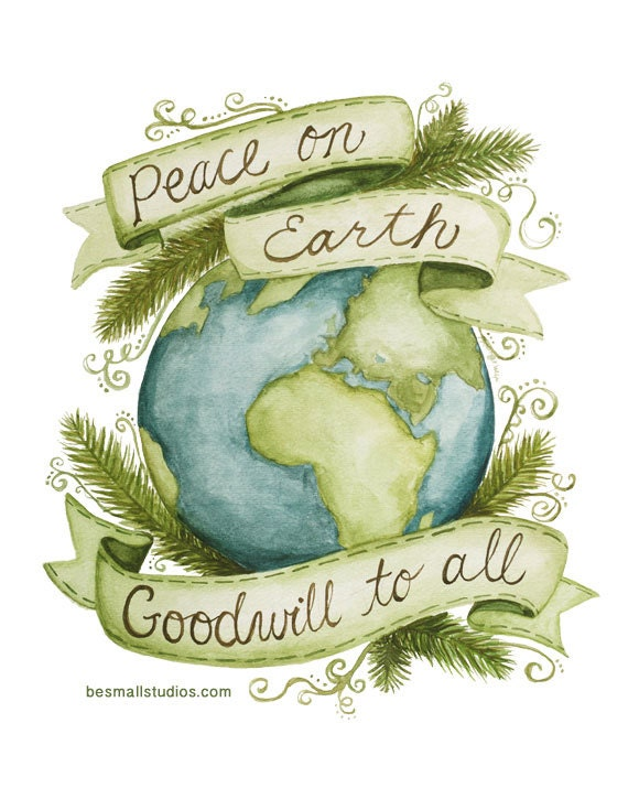 Peace on Earth 8x10 Print