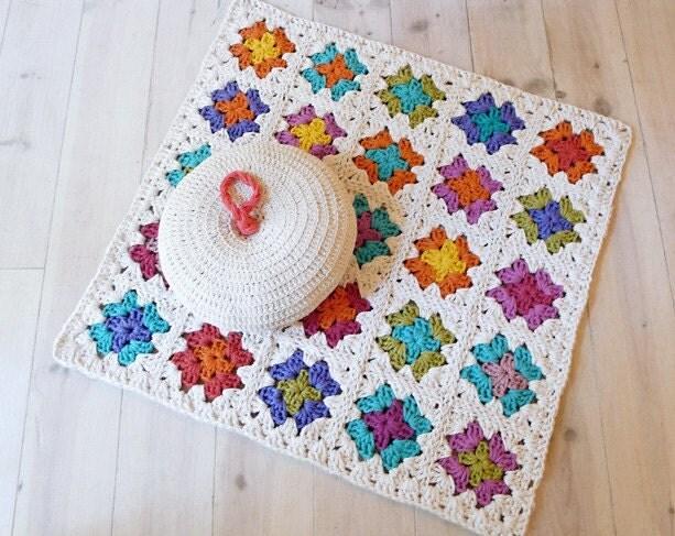 Crochet Tapete - Vovó Praça