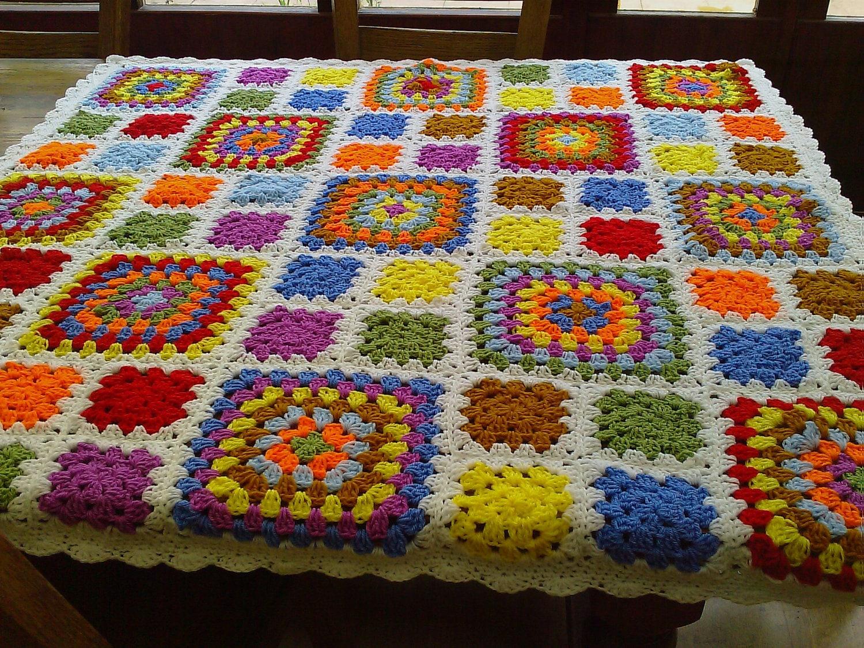 CROCHET BLANKET HANDMADE  Made in Cuddle Blanket   777