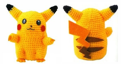 PIKACHU PATTERN CROCHET   Free Crochet Patterns