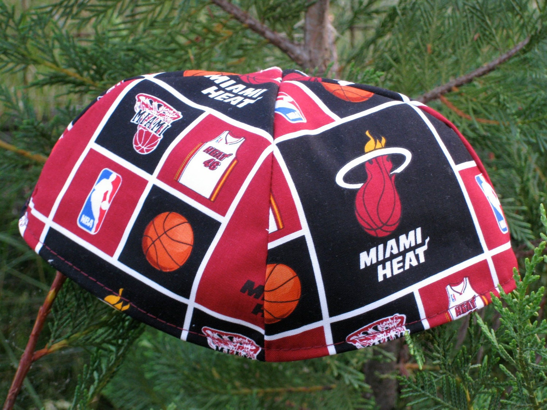 NBA Miami Heat Kippah or Yarmulke
