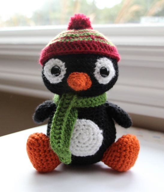 Amigurumi Penguin Pattern : Items similar to Amigurumi Crochet Pattern - Pepe the ...