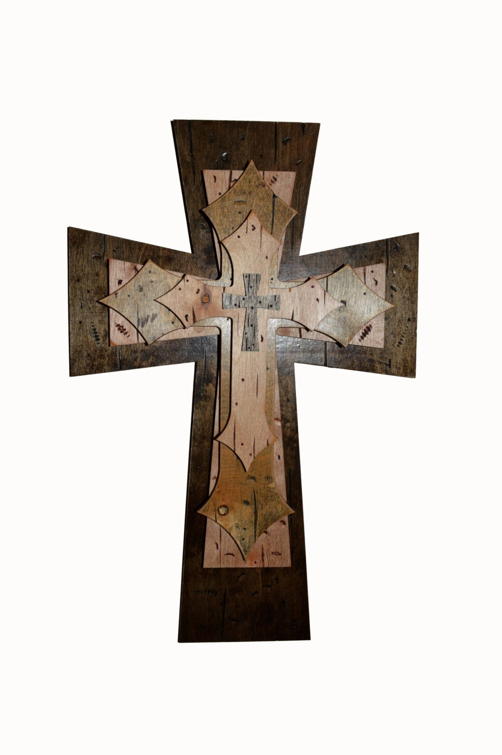 Wall Cross Distressed Wooden Decorative Finished Crosses