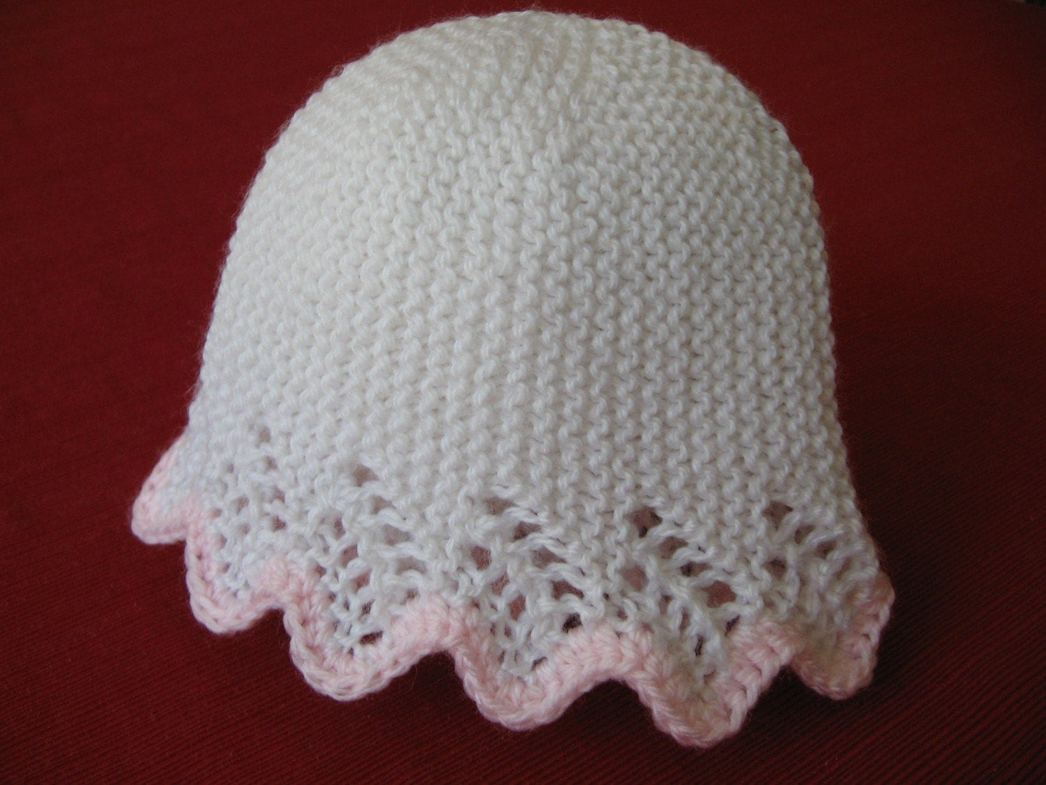 Bella Baby Hat knitting pattern by NewHeritageKnits on Etsy