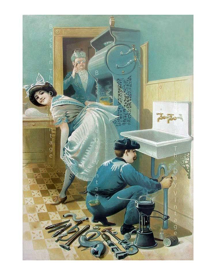 Vids Vintage plumber you very