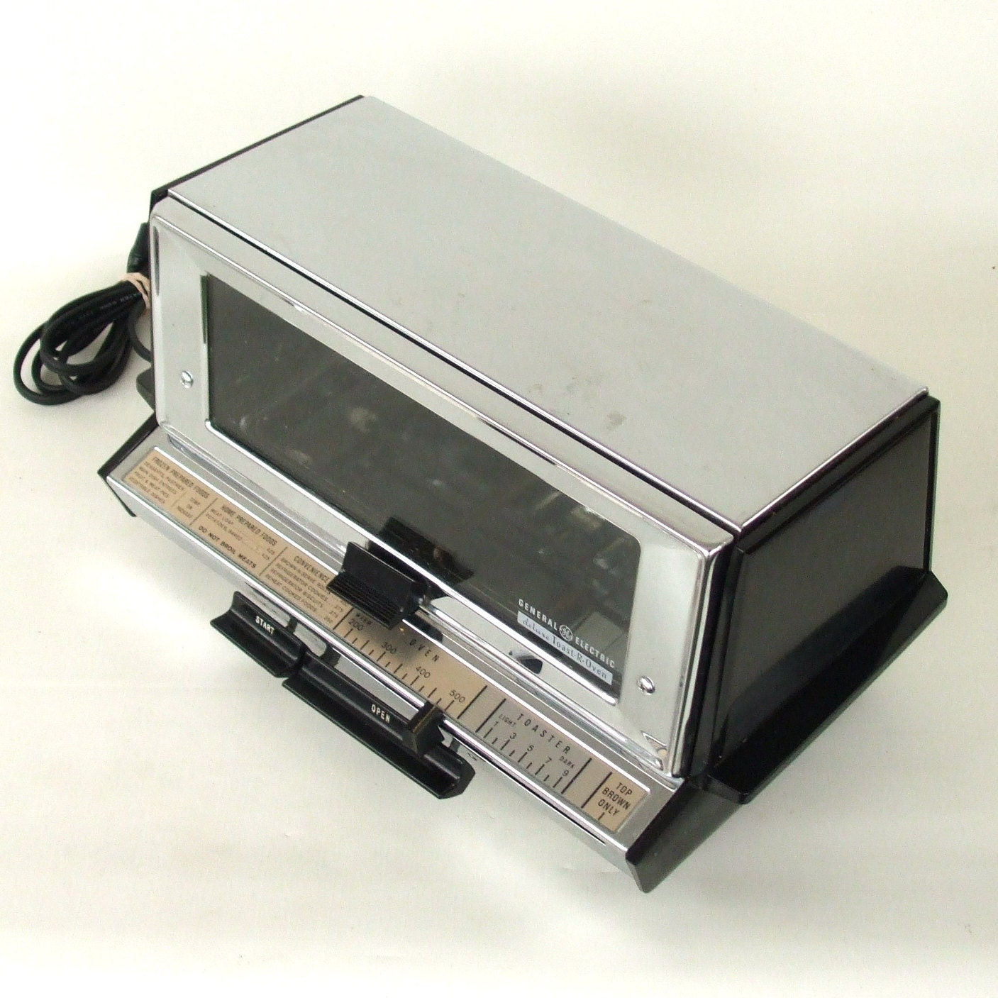 Ge Toaster Ovens Small ~ Vintage toaster oven chrome ge general electric by