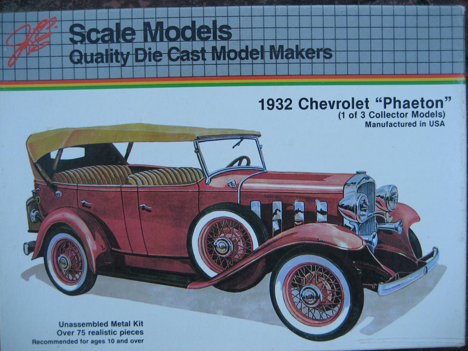 Hubley metal model car kits 13