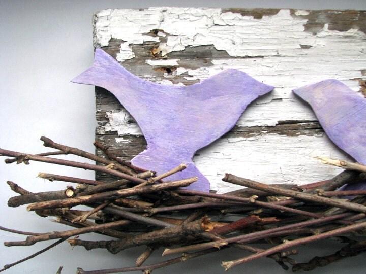 Winter Bird's Nest Assemblage