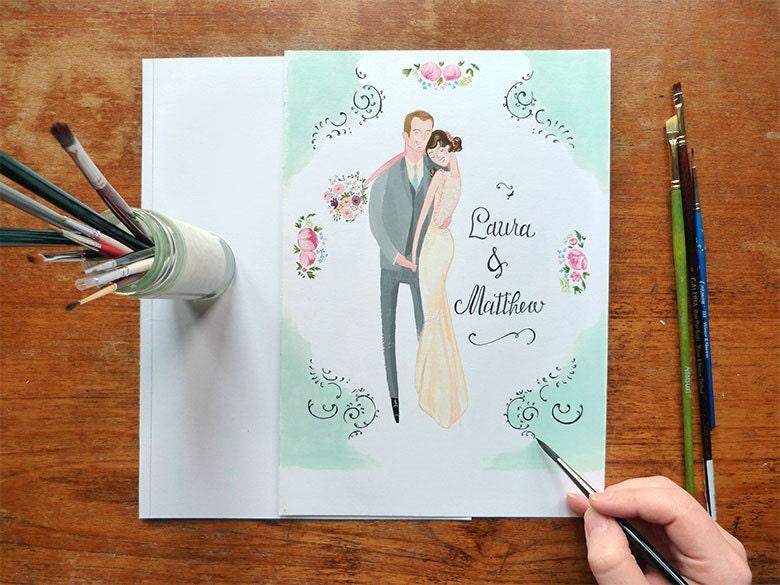 The Special Relationship - Custom wedding Portrait - JollyEdition