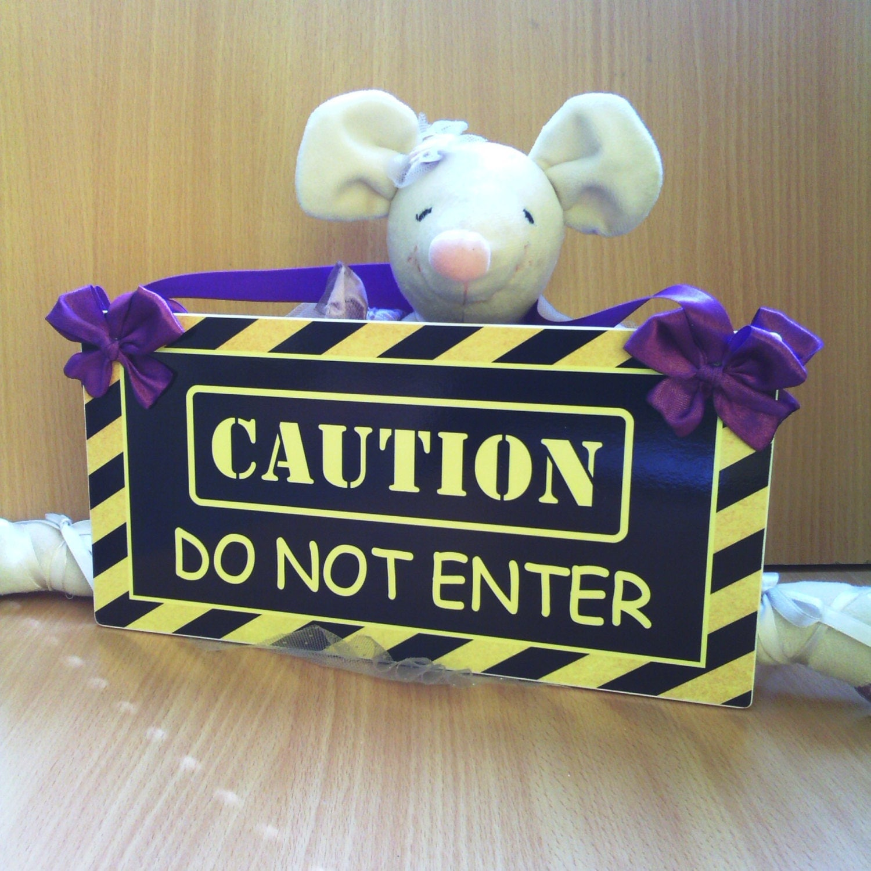 Do Not Enter My Room Sign For Girls