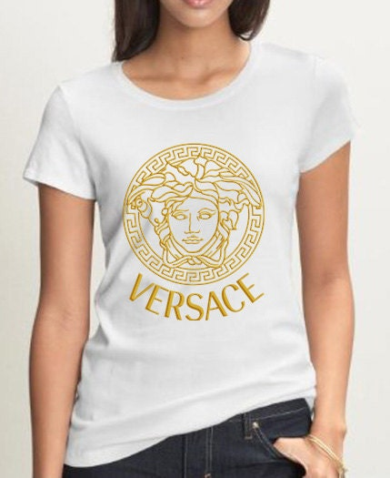 Antoni lewis on etsy for Versace t shirts women
