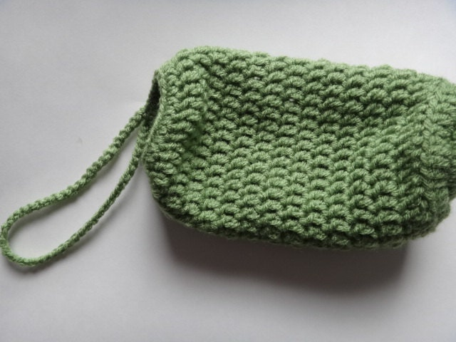Crochet Bag Pattern Design : Small Crochet grocery bag holder and dispenser by ...
