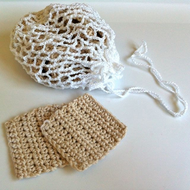 Crochet Face Scrubbies / Makeup Remover Pads / by ...