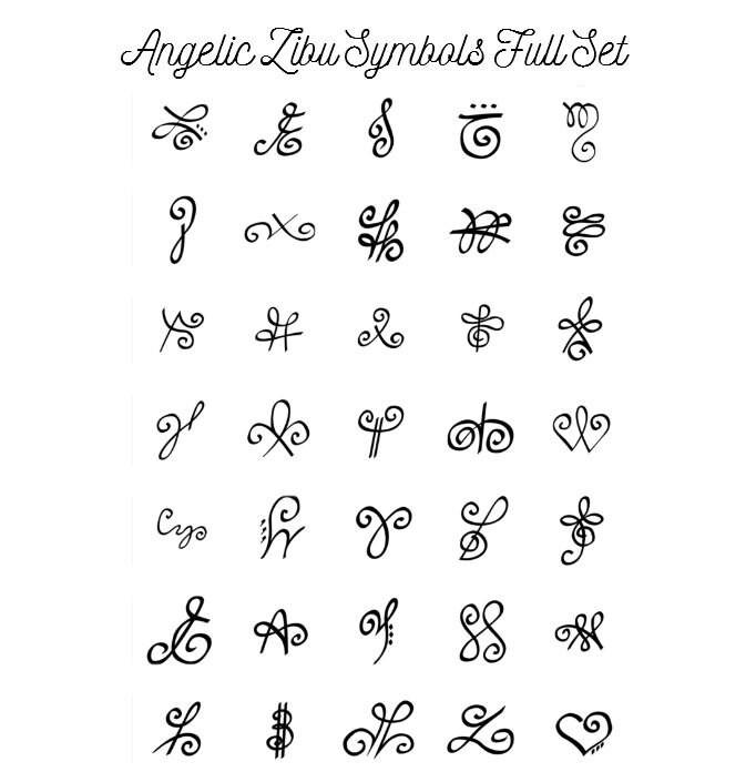 Similiar Zibu Symbols For Strength Keywords