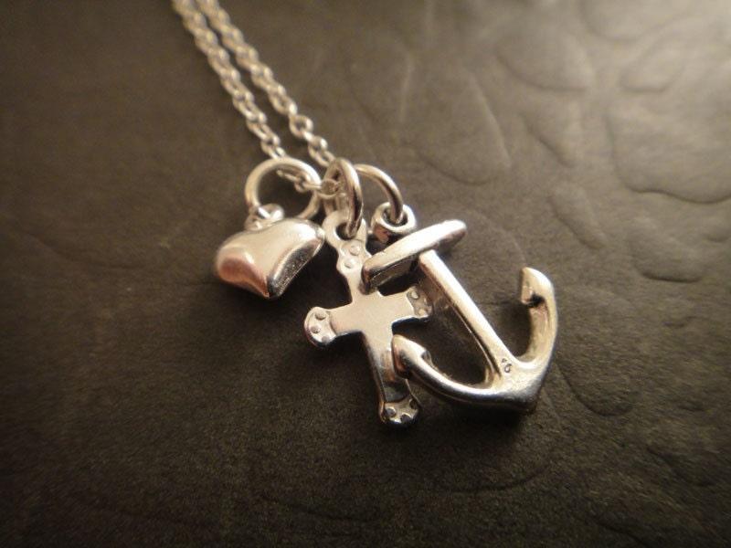 Faith hope and love necklace for Faith hope love jewelry