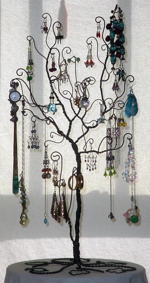 Large Jewelry Tree Display Stand By Claudinescloset On Etsy