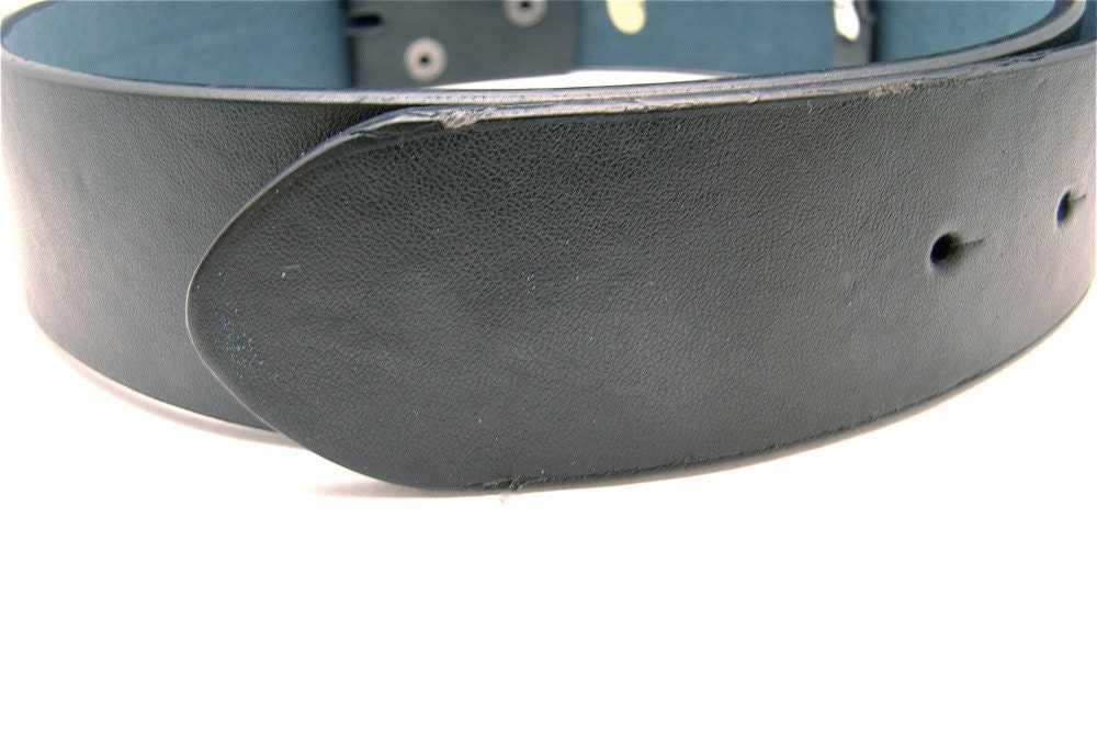 reserved listing black classic leather belt blanks by