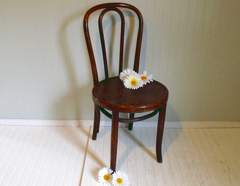 Original Mundus BentWood Cafe Chair Made In By DivineOrders