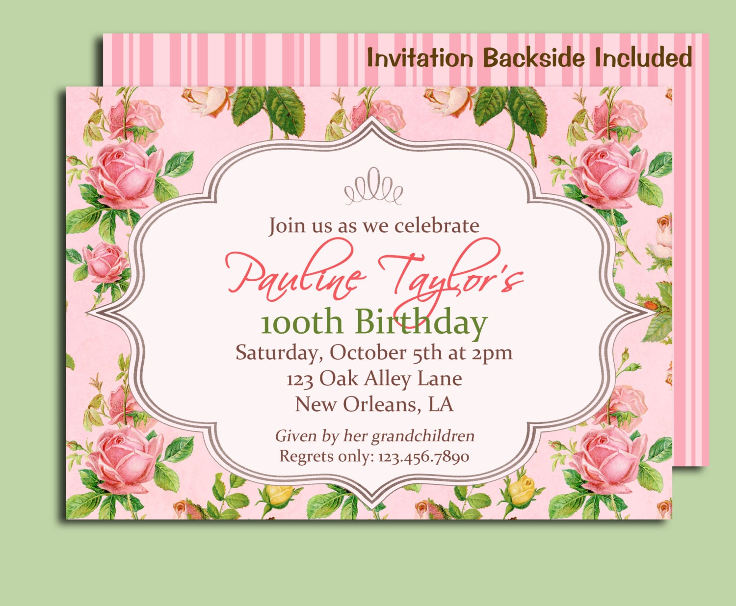 Garden party invitation templates garden party shower tea party reunion by that party chick catch stopboris Image collections