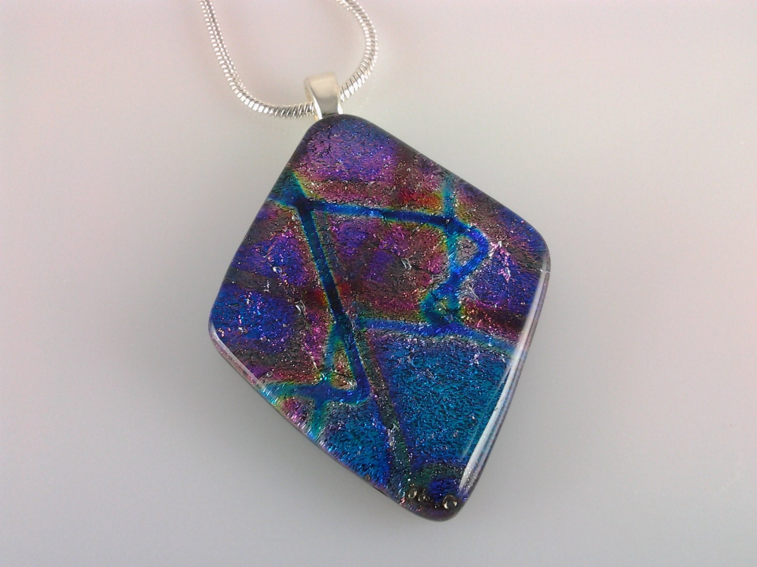 dichroic fused glass jewelry how to make