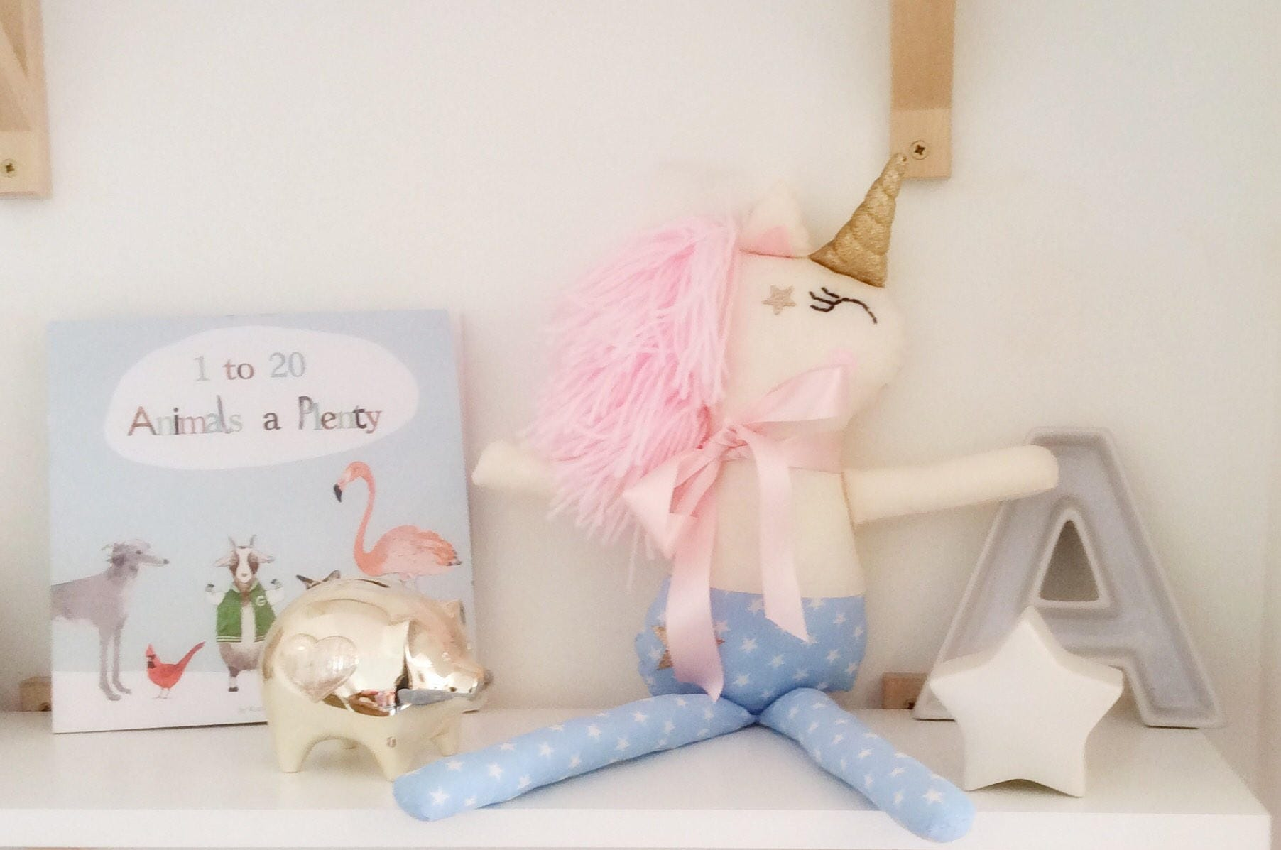 Unicorn Teddy unicorn soft toy