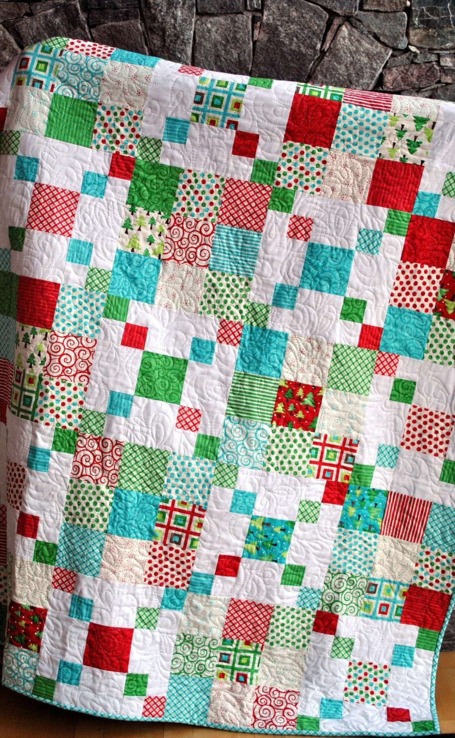 Easy Quilt Patterns With Layer Cakes : QUILT PATTERN.... Quick and Easy... Layer Cake or by sweetjane