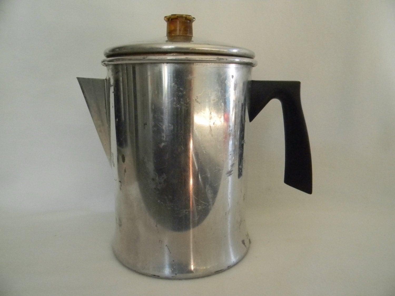 Mirro Percolator Coffee Maker : Mirro Vintage Aluminum Coffee Pot Percolator / by moncyscottage