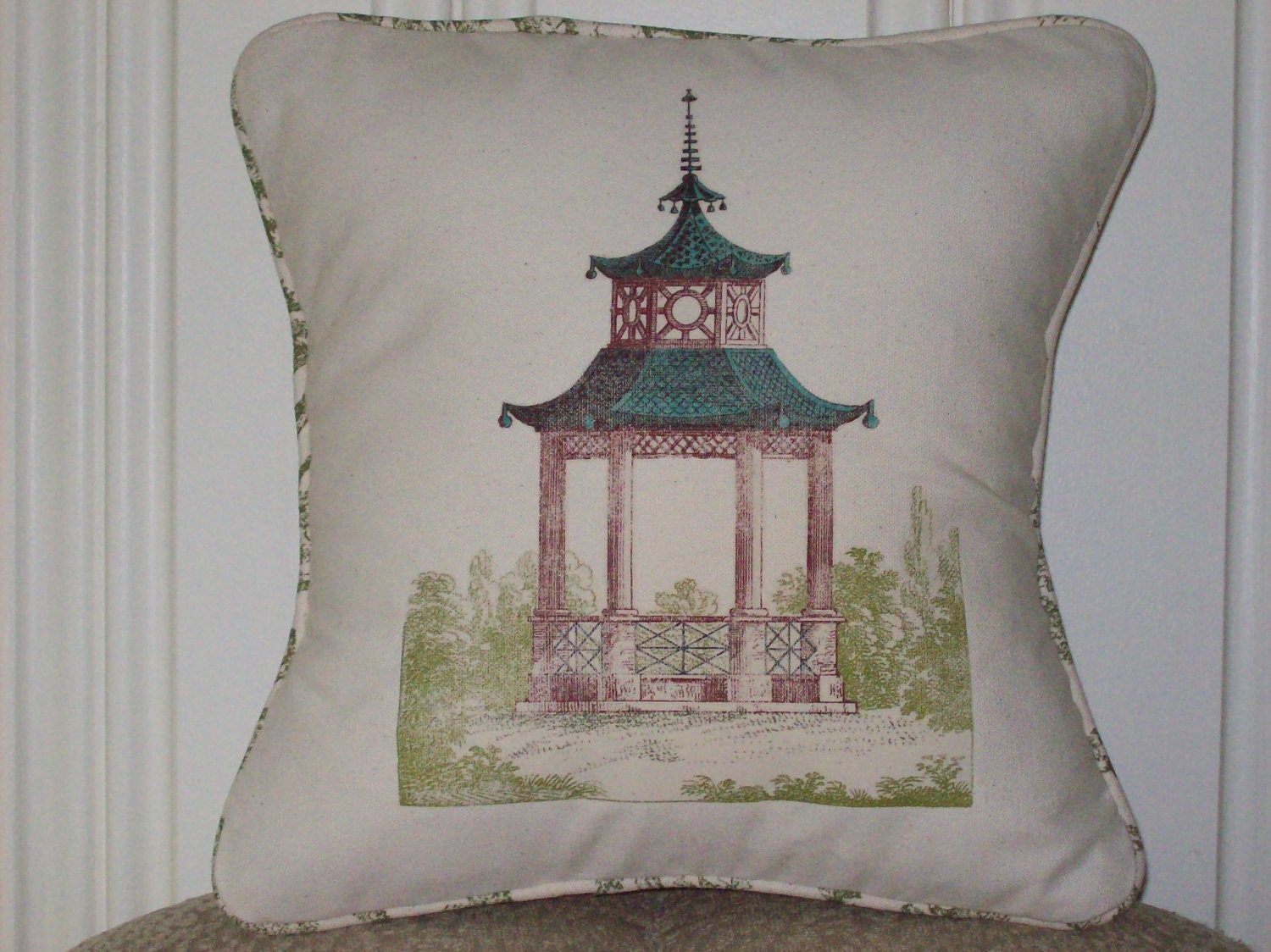 Vintage Shabby Chic Pillow Shams : shabby chic feed sack french country vintage by kreativbyerika