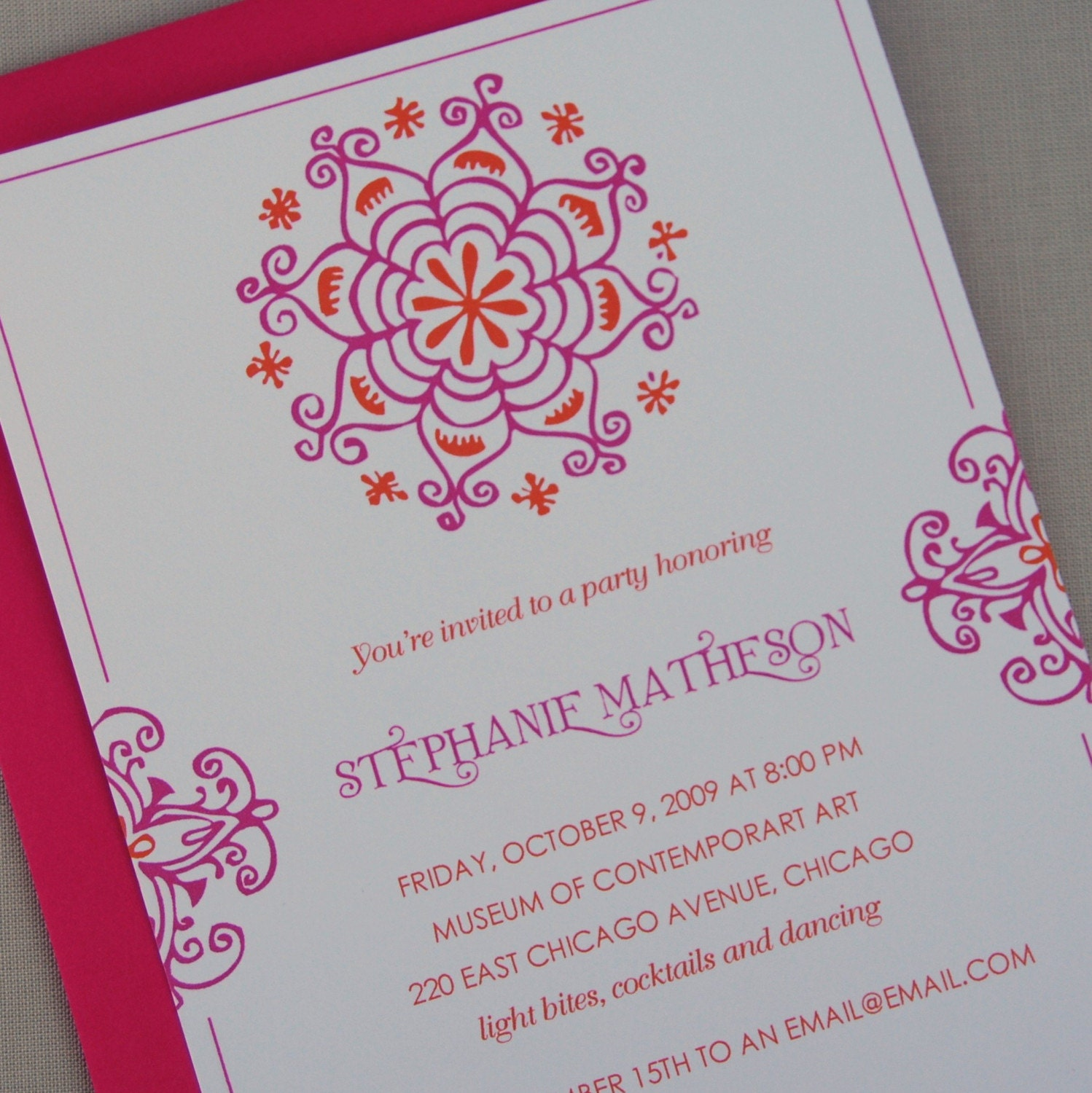 Mehndi Party Card : Henna invitations perfect for shower or by kimberlyfitzsimons