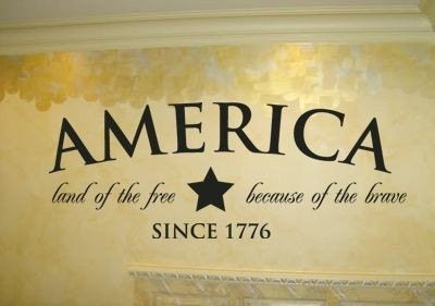 America land of the free because of the brave by for How to get free land in usa