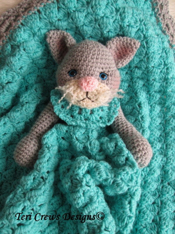 Free Crochet Pattern Huggy Blanket : Crochet Pattern Cat Huggy Blanket by Teri Crews by ...